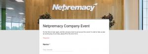 Netpremacy Google Form