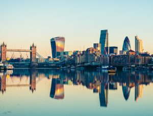 Netpremacy homepage london skyline