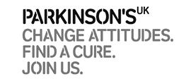 parkinsons uk black and white logo