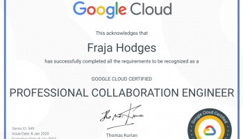 Passing Google's Professional Collaboration Engineer certification as a non-techie