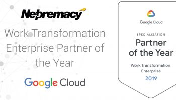 Netpremacy wins 2019 Google Cloud Specialisation of the Year – Work Transformation Enterprise